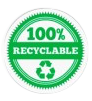recyclable 100%
